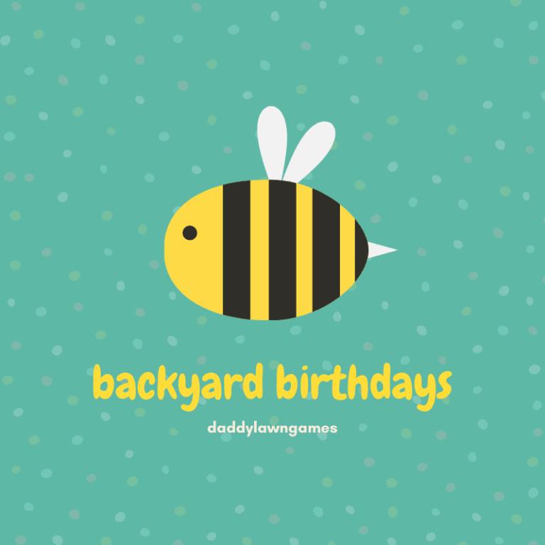 backyard birthday ideas