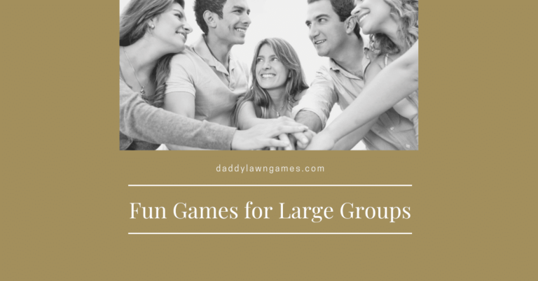 Fun Games for Large Groups