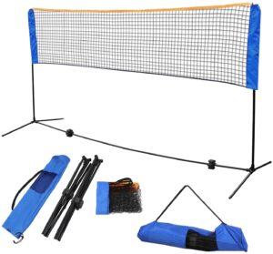 F2C Instant Setup Portable Badminton Net Set