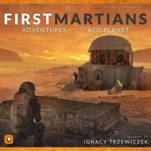 First Martians Board Game