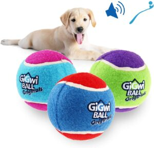 Gigwi Squeaky Tennis Balls