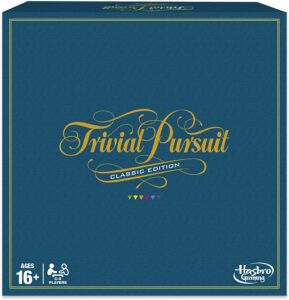 Hasbro Gaming Trivial Pursuit Game