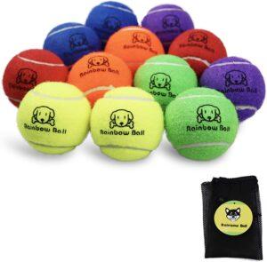 PIKASEN Rainbow Tennis Balls
